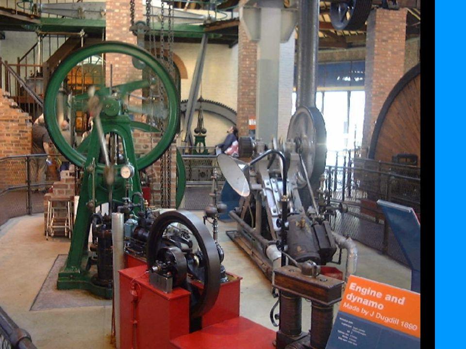 Små dampmaskiner til bruk separat ved enkeltmaskiner.