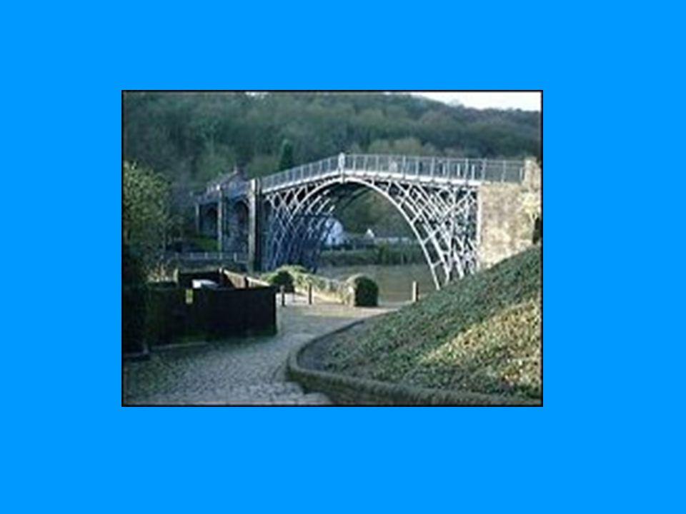 Fagverksbro, Ironbridge i Coalbrookdale