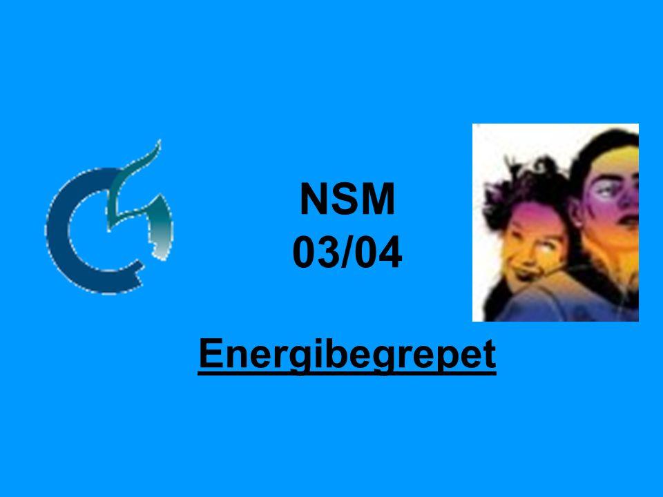 NSM 03/04 Energibegrepet