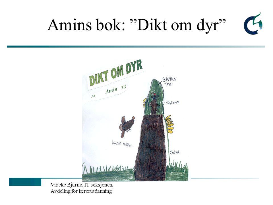 Amins bok: Dikt om dyr
