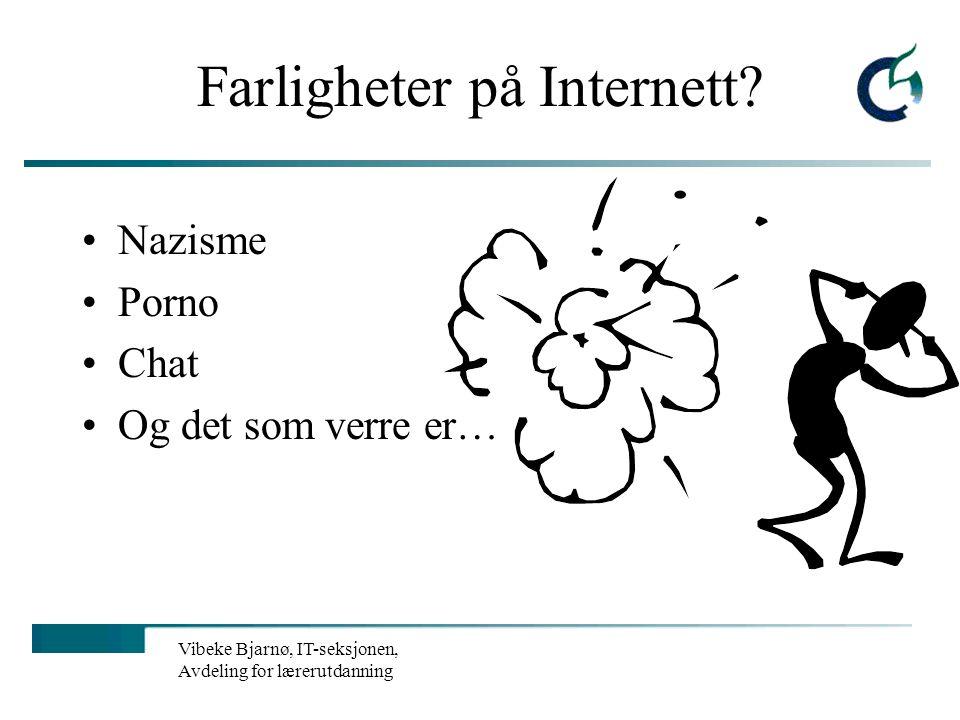 Farligheter på Internett