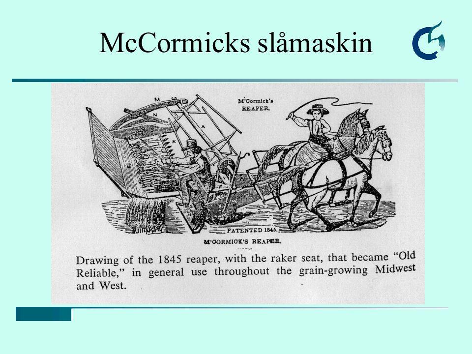 McCormicks slåmaskin Fra leksikon: