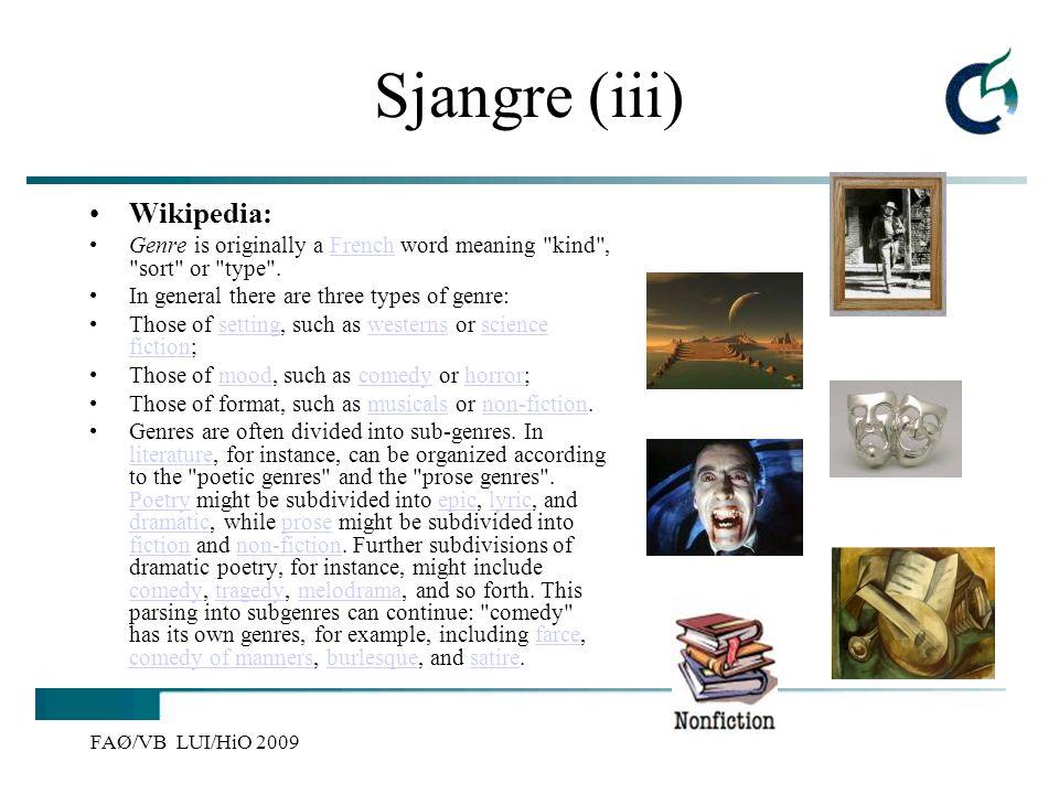 Sjangre (iii) Wikipedia: