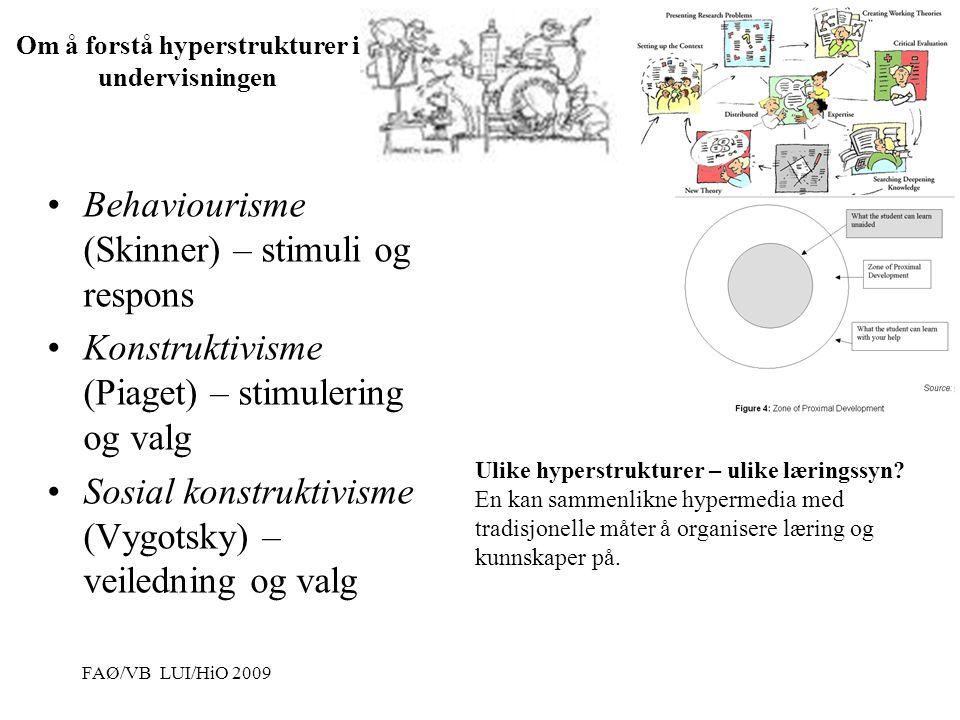 Om å forstå hyperstrukturer i undervisningen