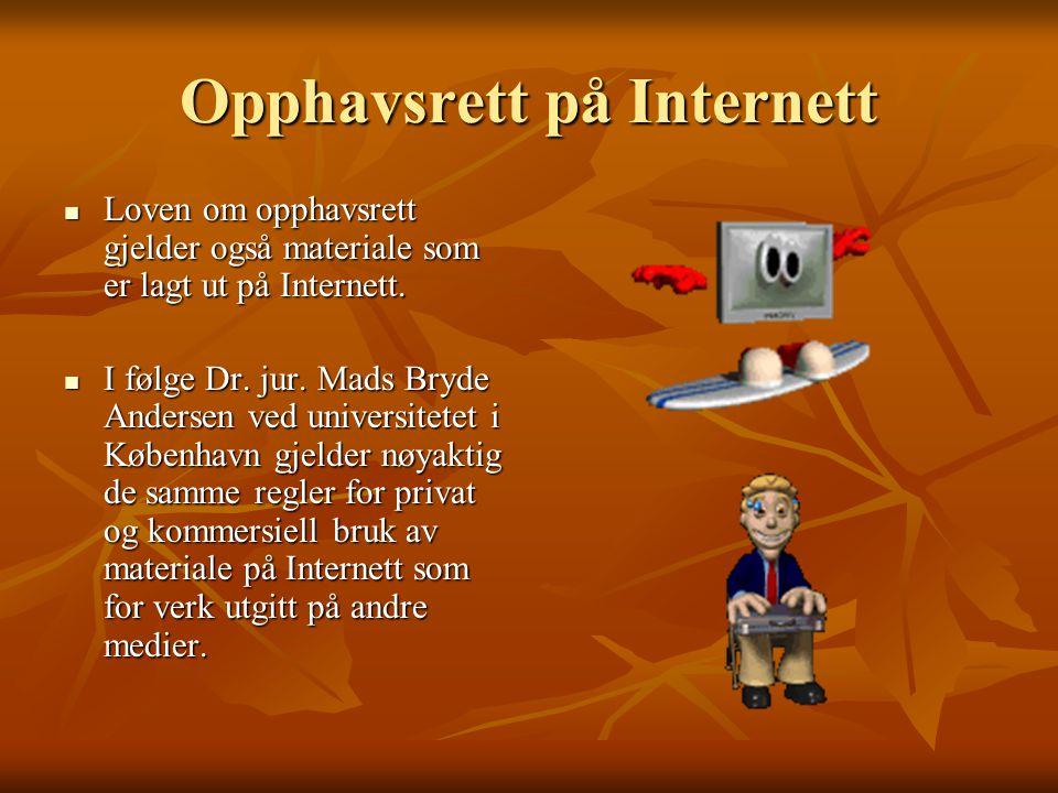 Opphavsrett på Internett
