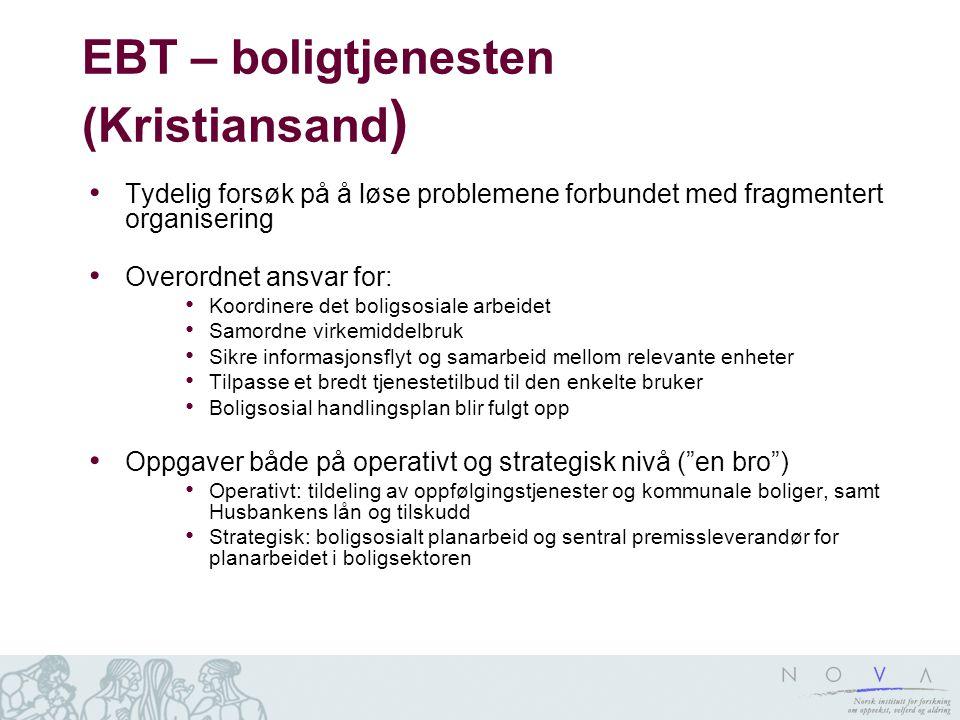 EBT – boligtjenesten (Kristiansand)