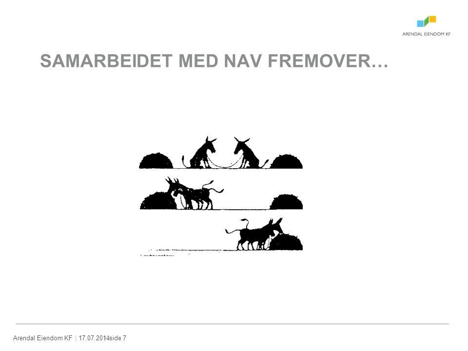 SAMARBEIDET MED NAV FREMOVER…