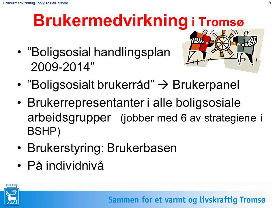 Brukermedvirkning i Tromsø