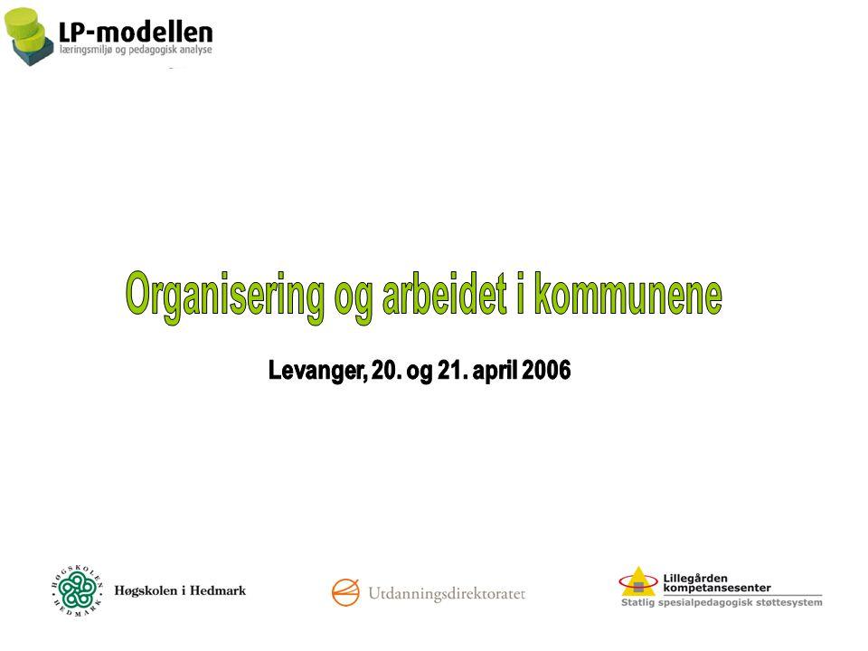 Organisering og arbeidet i kommunene