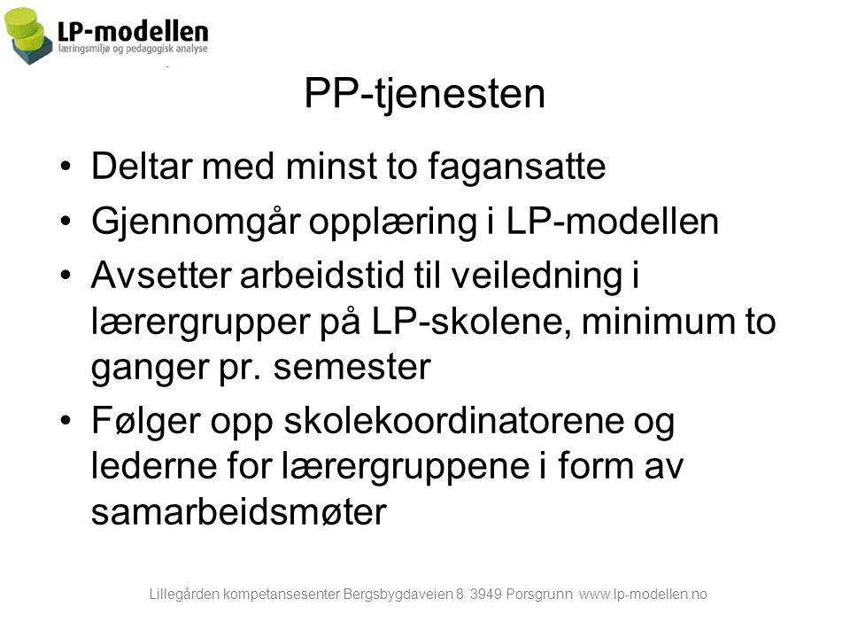PP-tjenesten Deltar med minst to fagansatte