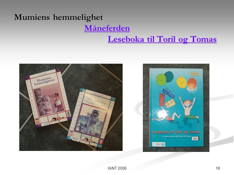 Mumiens hemmelighet Måneferden Leseboka til Toril og Tomas