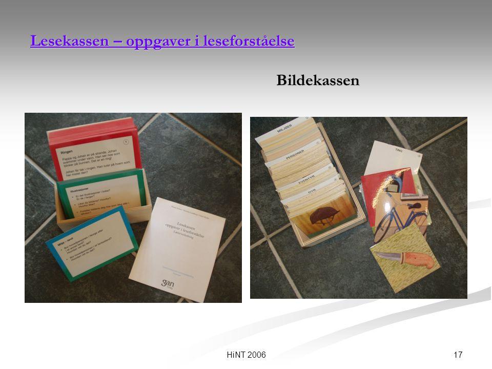 Lesekassen – oppgaver i leseforståelse Bildekassen