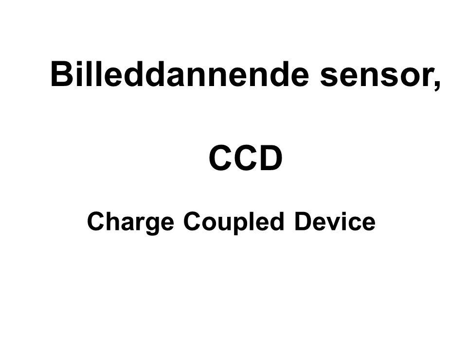 Billeddannende sensor,