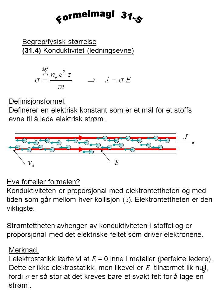 Formelmagi 31-5 Begrep/fysisk størrelse