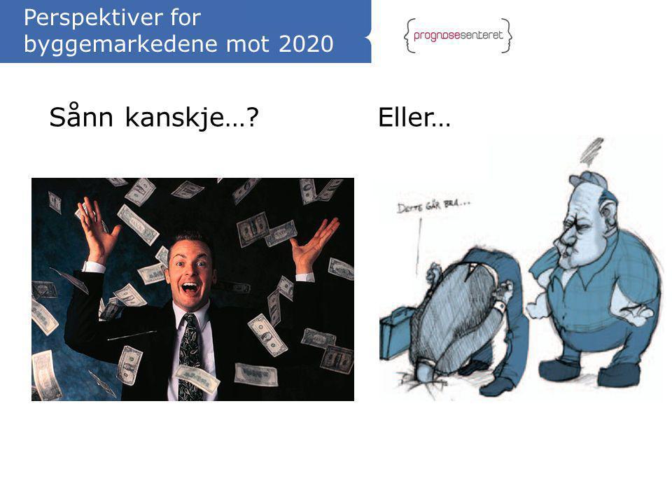 Perspektiver for byggemarkedene mot 2020
