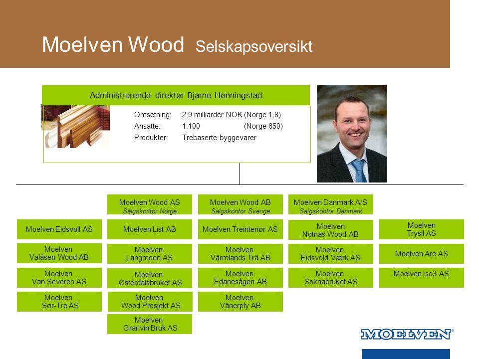 Moelven Wood Selskapsoversikt