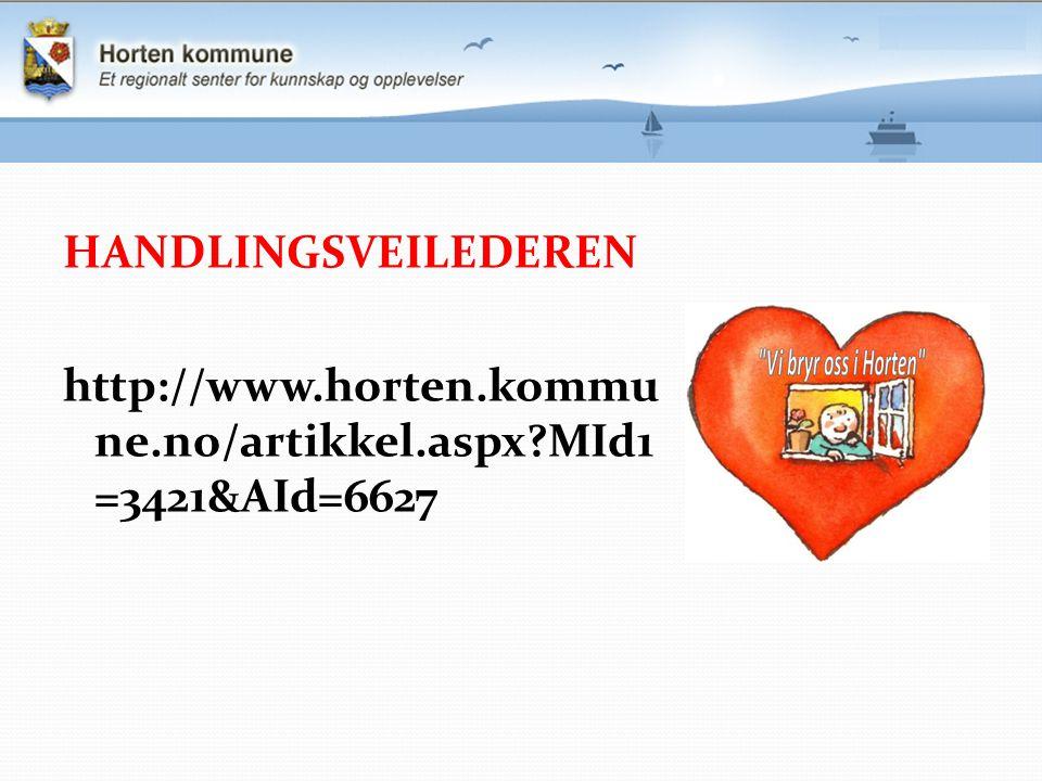 HANDLINGSVEILEDEREN http://www. horten. kommune. no/artikkel. aspx