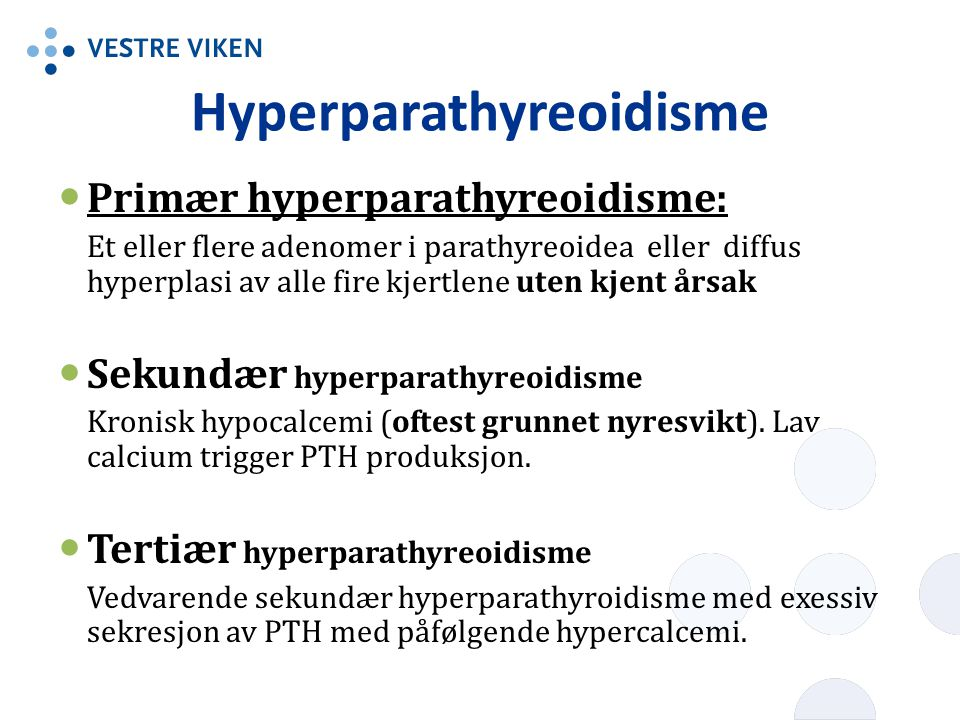 Hyperparathyreoidisme