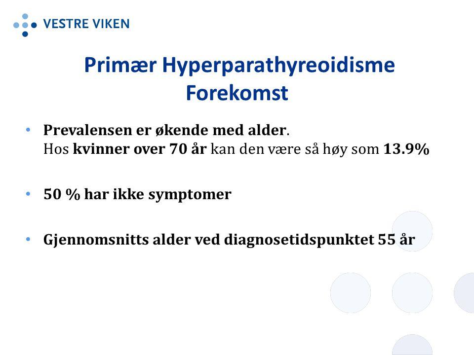 Primær Hyperparathyreoidisme Forekomst