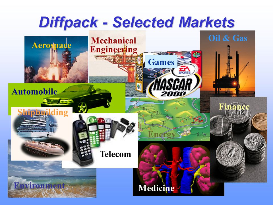 Diffpack - Selected Markets