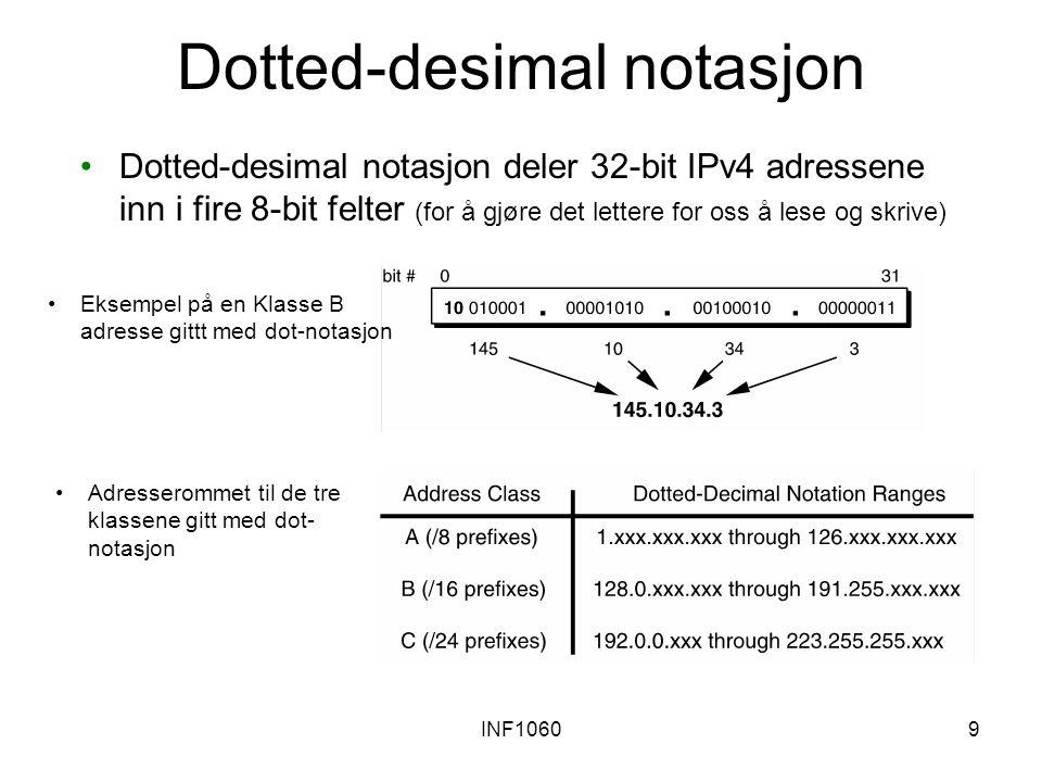 Dotted-desimal notasjon