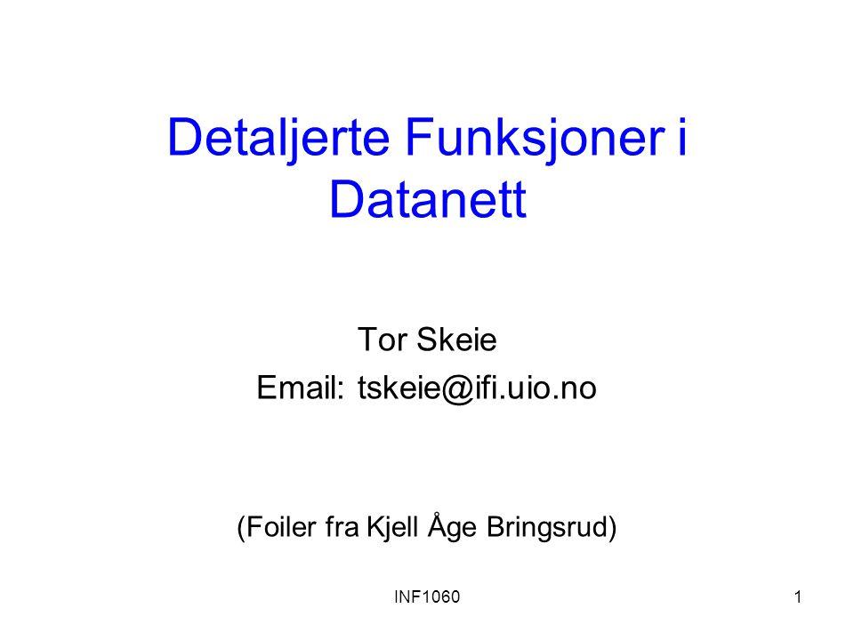 Detaljerte Funksjoner i Datanett