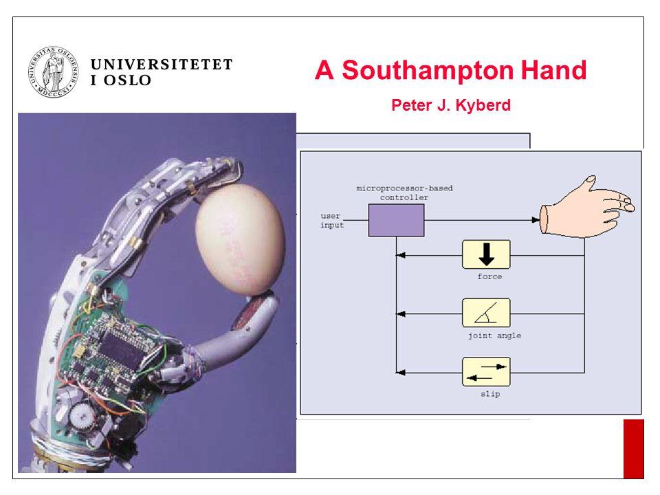 A Southampton Hand Peter J. Kyberd