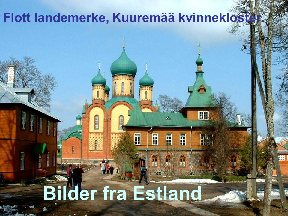 Flott landemerke, Kuuremää kvinnekloster.