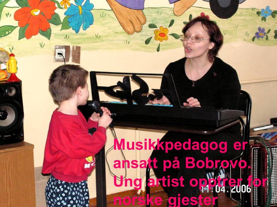 Musikkpedagog er ansatt på Bobrovo