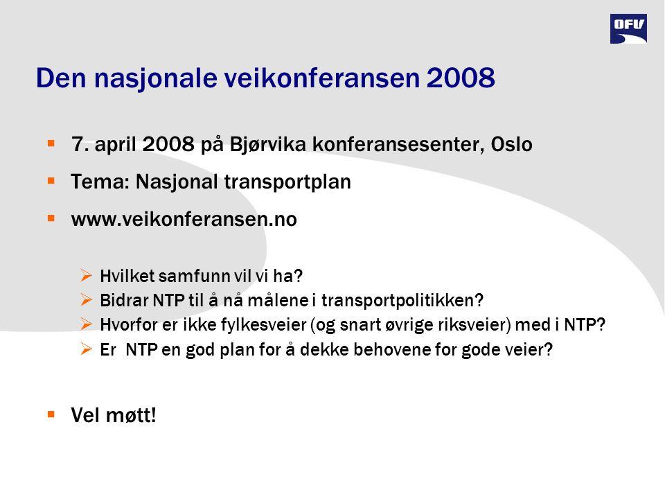 Den nasjonale veikonferansen 2008