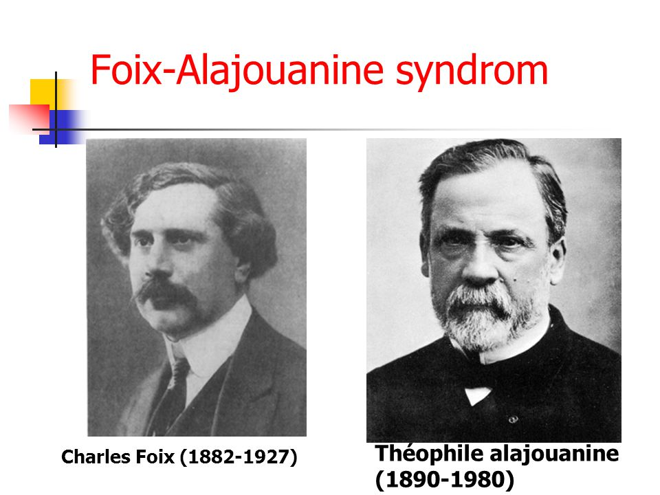 Foix-Alajouanine syndrom