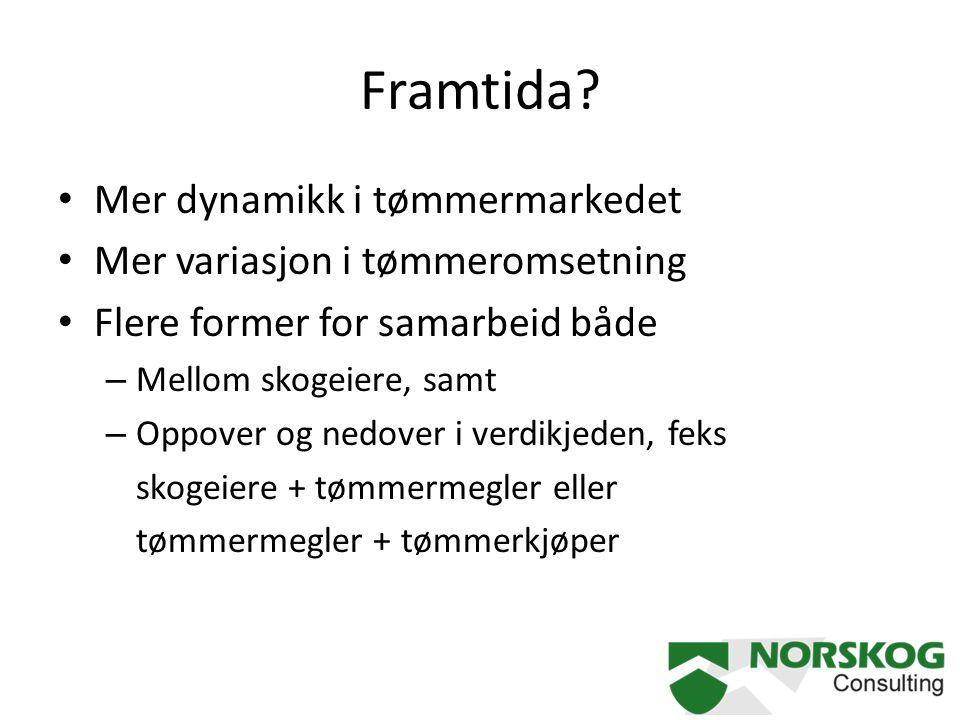Framtida Mer dynamikk i tømmermarkedet