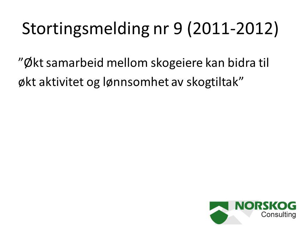 Stortingsmelding nr 9 (2011-2012)