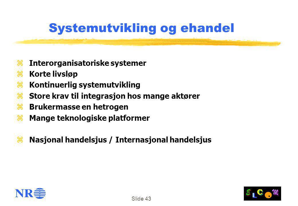 Systemutvikling og ehandel