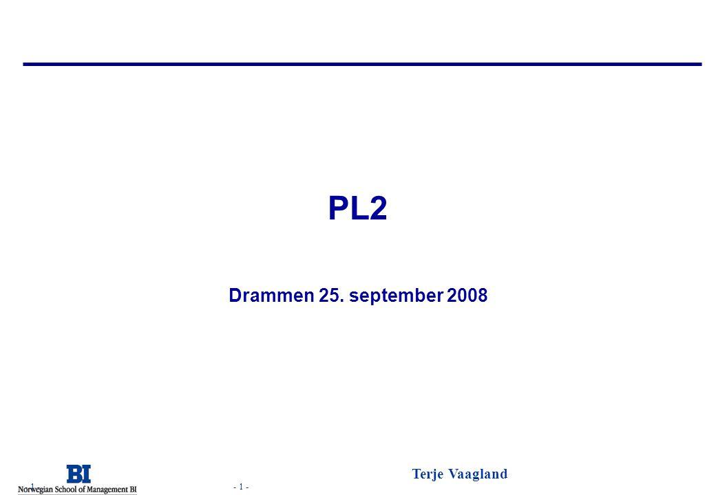 PL2 Drammen 25. september 2008