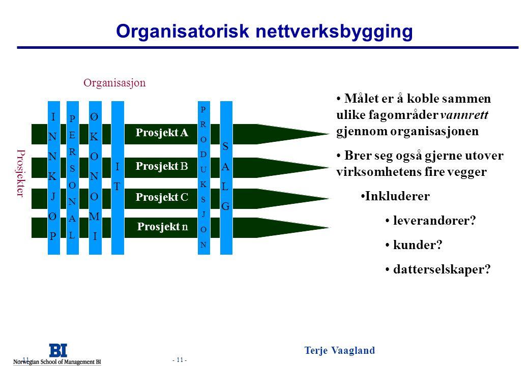 Organisatorisk nettverksbygging