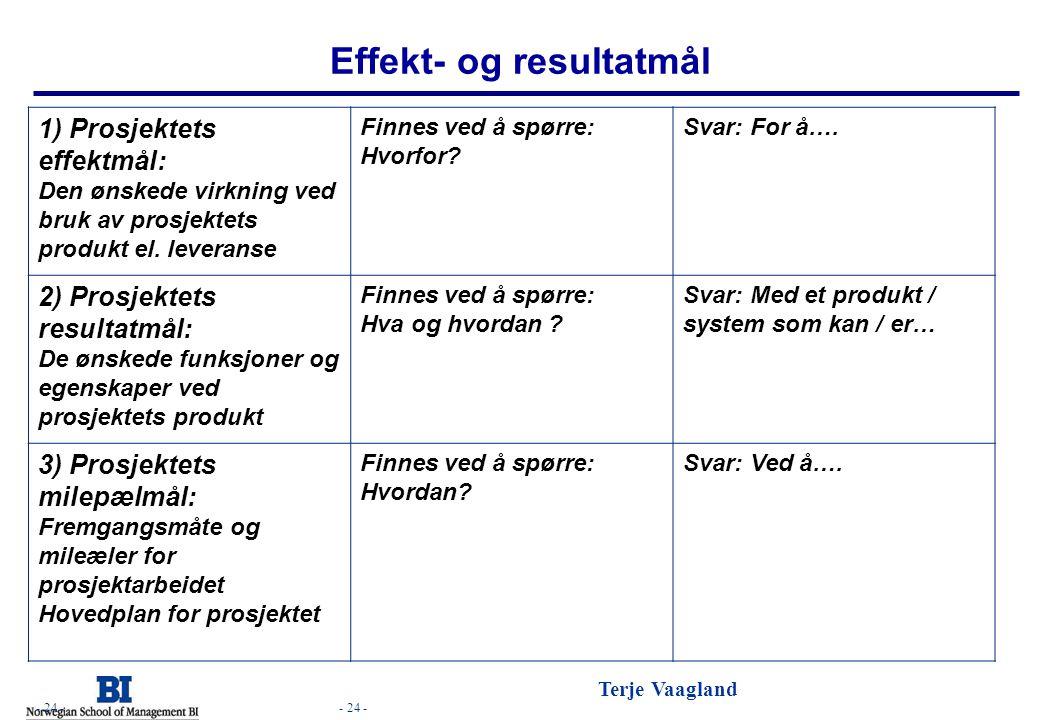Effekt- og resultatmål