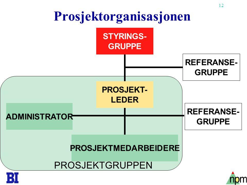 Prosjektorganisasjonen