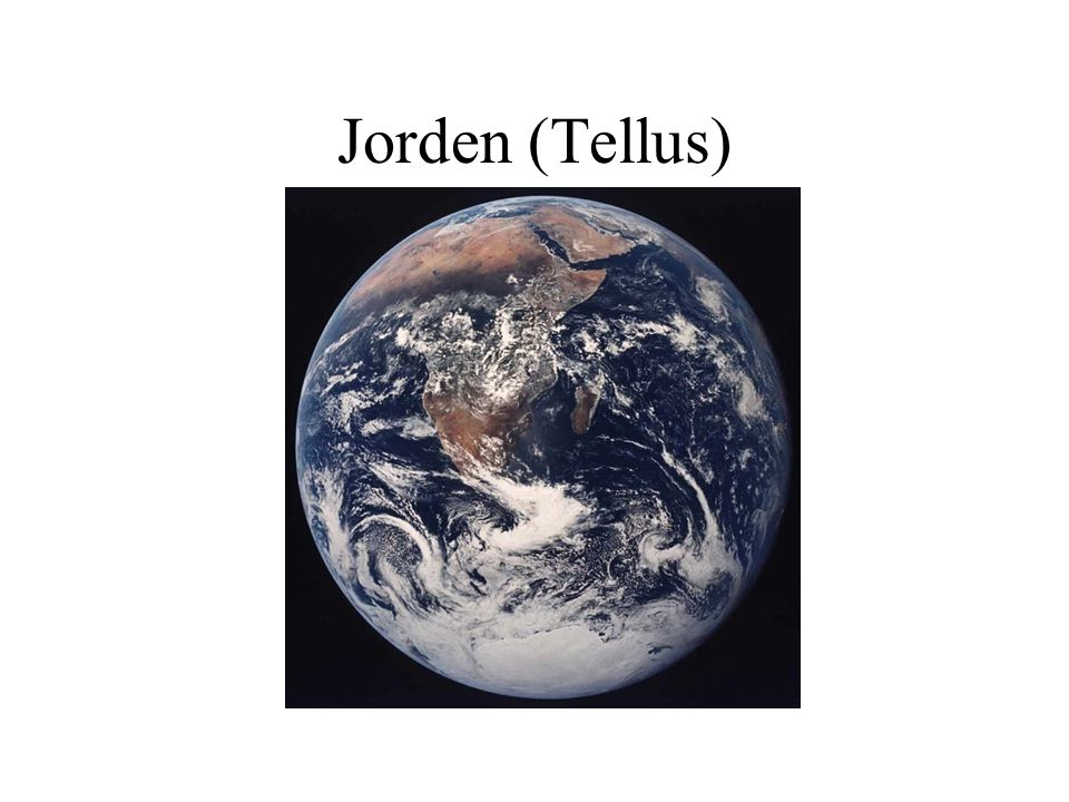 Jorden (Tellus)