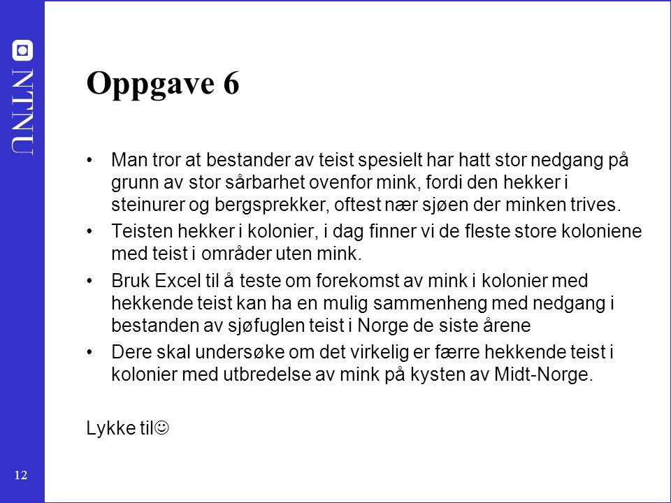 Oppgave 6