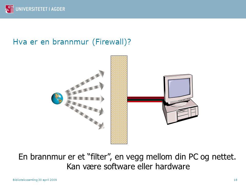 Hva er en brannmur (Firewall)
