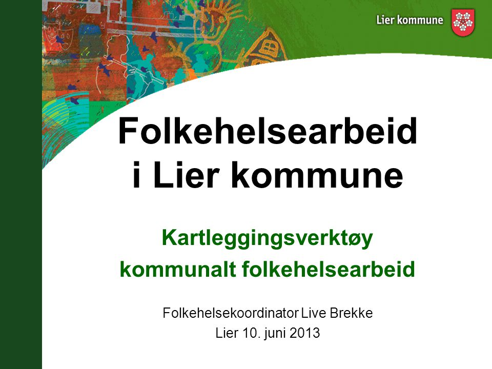 Folkehelsearbeid i Lier kommune