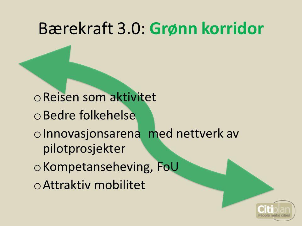 Bærekraft 3.0: Grønn korridor