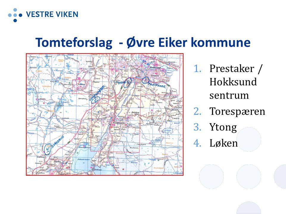 Tomteforslag - Øvre Eiker kommune