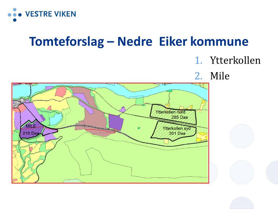 Tomteforslag – Nedre Eiker kommune