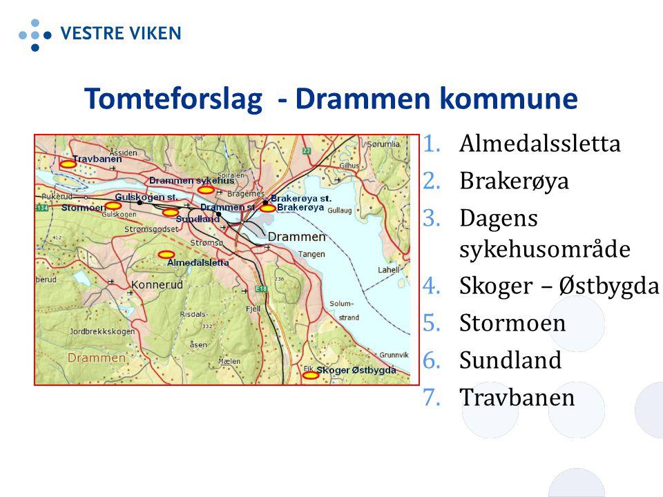 Tomteforslag - Drammen kommune