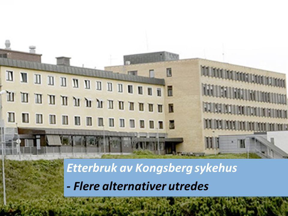 Etterbruk av Kongsberg sykehus