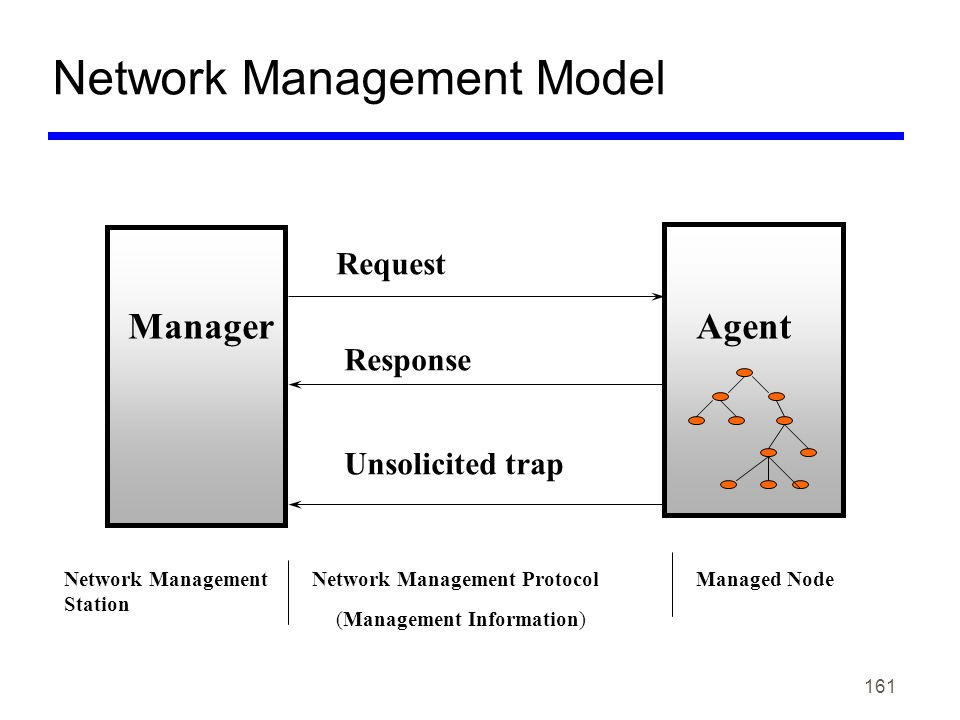 Network Management Model