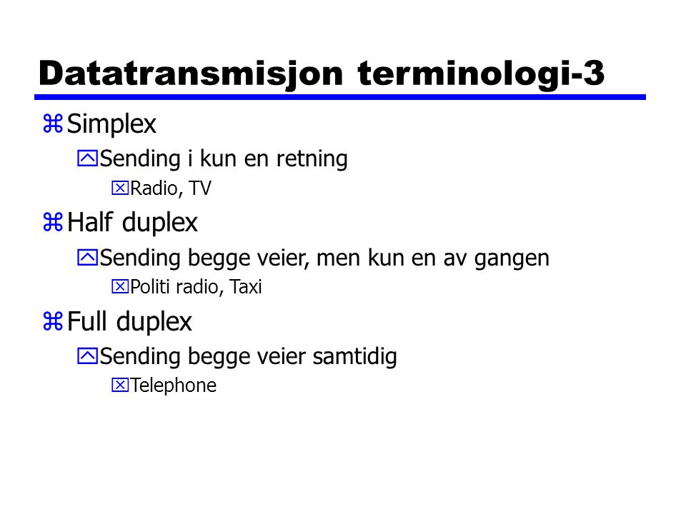 Datatransmisjon terminologi-3