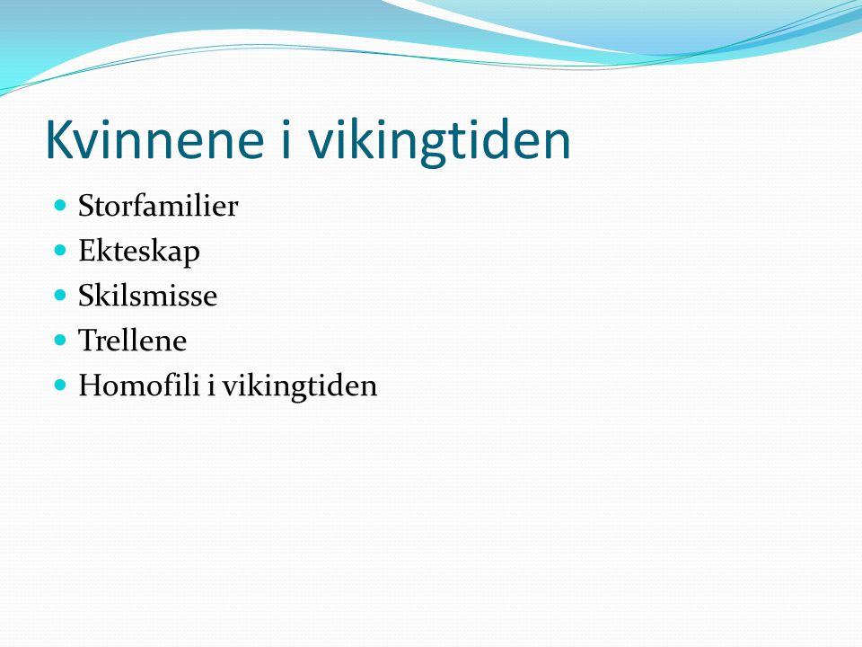 Kvinnene i vikingtiden